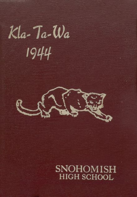 1944 Snohomish High School Yearbook Cover