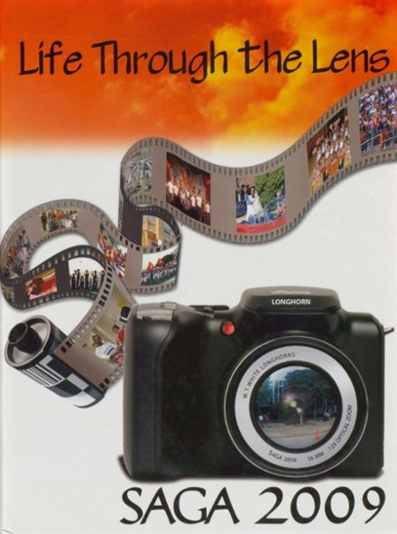 2009 Warren Travis White High School Yearbook Cover