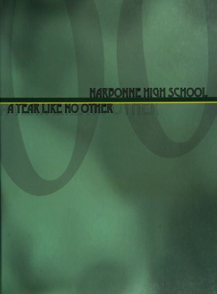 2000 Nathaniel Narbonne High School Yearbook Cover