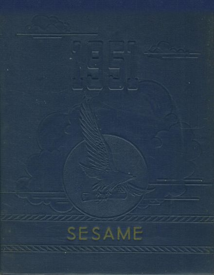 1951 St. Mary Academy Yearbook Cover