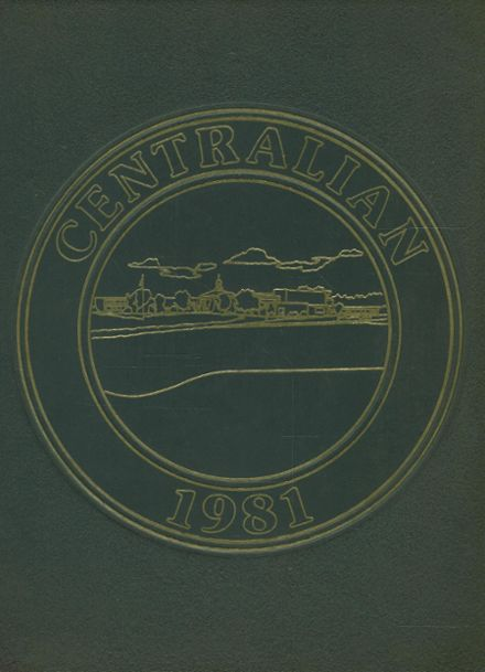 1981 Southwestern High School Yearbook Cover
