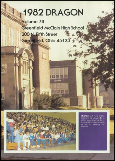 1982 McClain High School Yearbook Page 5
