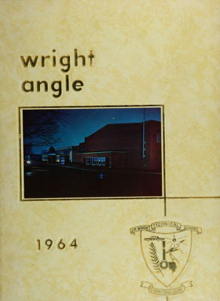 1964 Wright Technical Institute Yearbook Cover