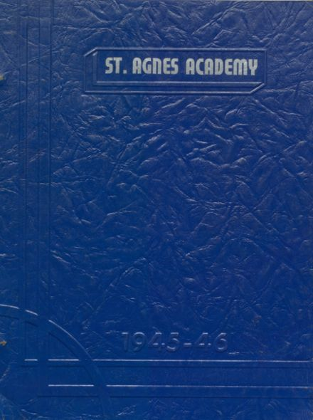 1946 St. Agnes Academy Yearbook Cover
