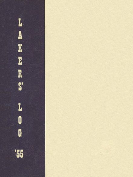 1955 Lake Oswego High School Yearbook Cover