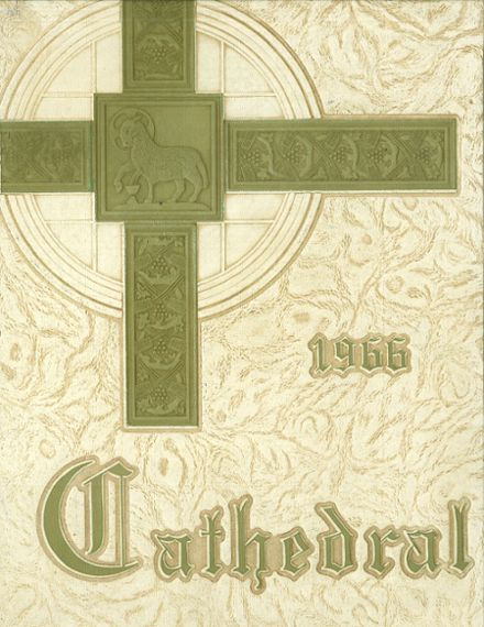 1966 Cathedral High School Yearbook Cover