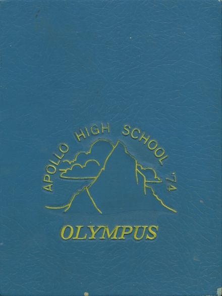 1974 Apollo High School Yearbook Cover
