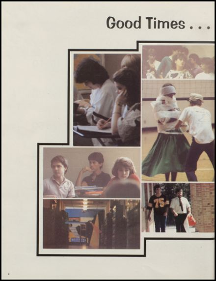 1986 Donoho High School Yearbook Page 8