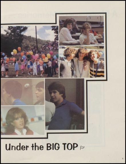 1986 Donoho High School Yearbook Page 9