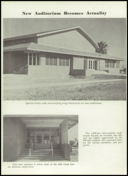 1955 Scottsdale High School Yearbook Page 7