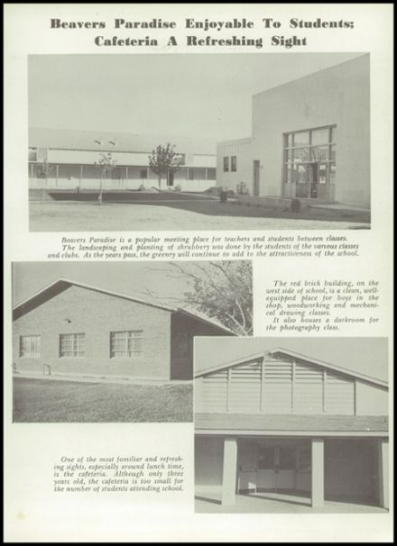 1955 Scottsdale High School Yearbook Page 9