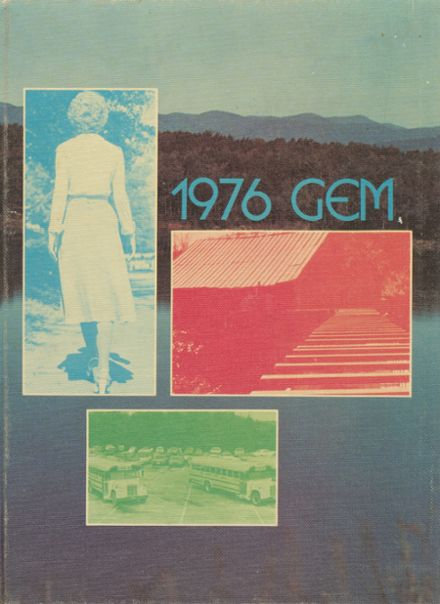 1976 Pickens High School Yearbook Cover