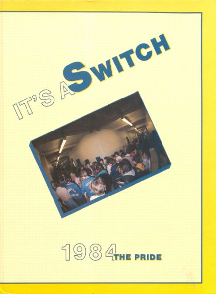 1984 Gahanna Lincoln High School Yearbook Cover