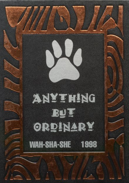 1998 Pawhuska High School Yearbook Cover