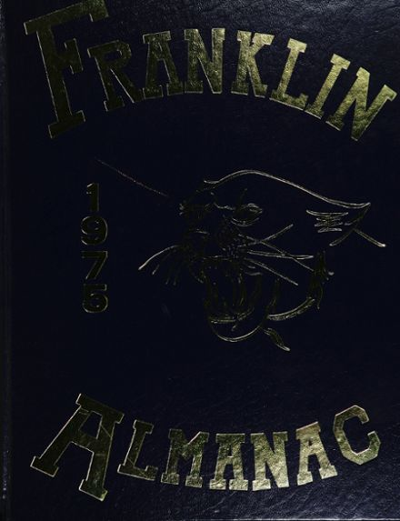 1975 Franklin High School Yearbook Cover