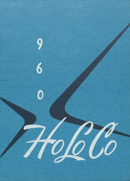 1960 Estherville High School Yearbook Cover