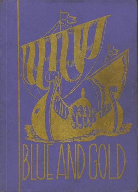 1941 Cadillac High School Yearbook Cover