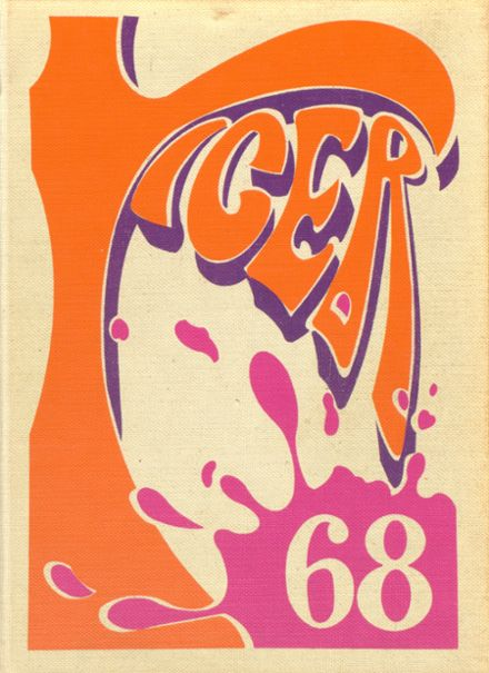 1968 Warsaw High School Yearbook Cover