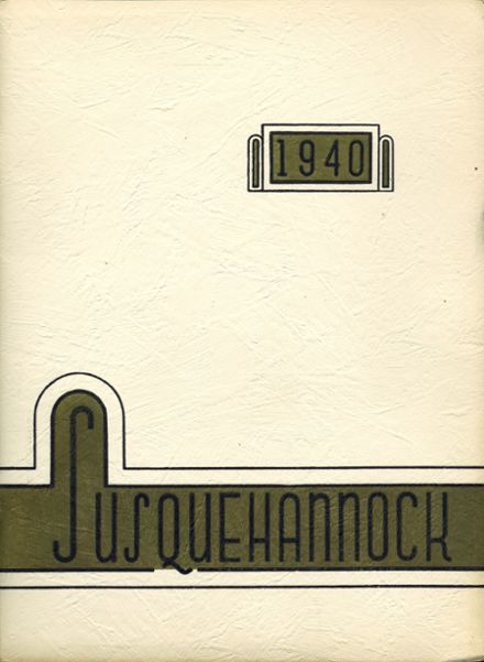 1940 Columbia High School Yearbook Cover