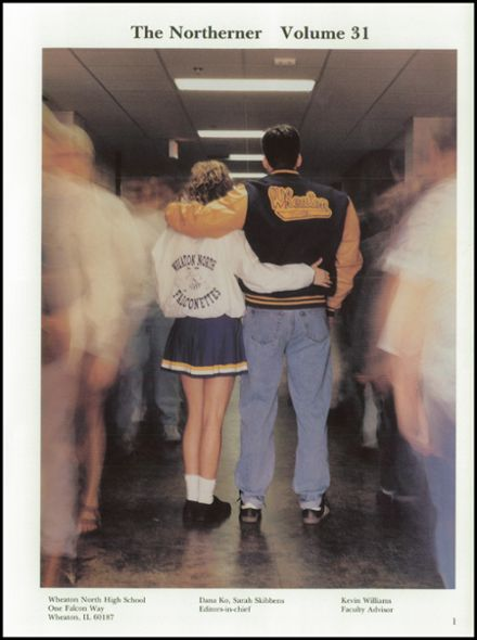 1995 Wheaton North High School Yearbook Page 5