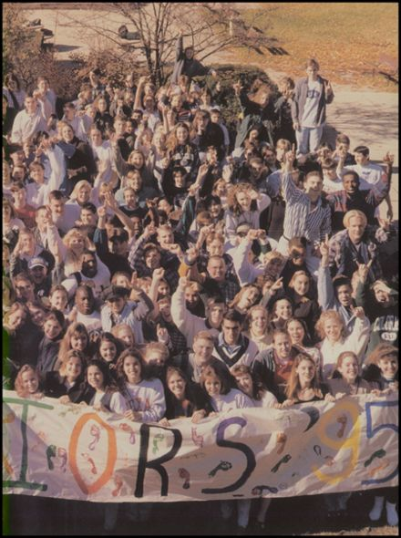 1995 Wheaton North High School Yearbook Page 9
