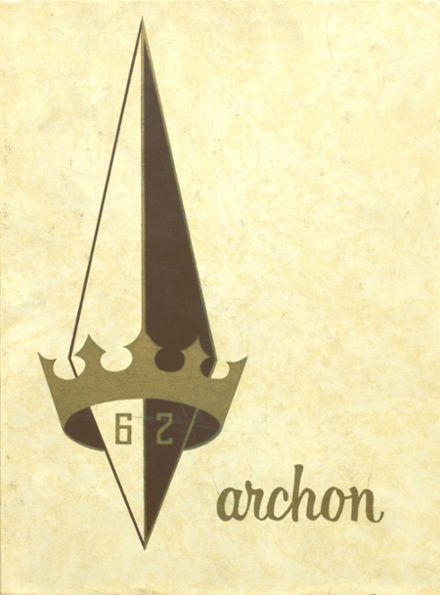1962 Stagg High School Yearbook Cover