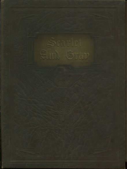 1929 West Lafayette High School Yearbook Cover