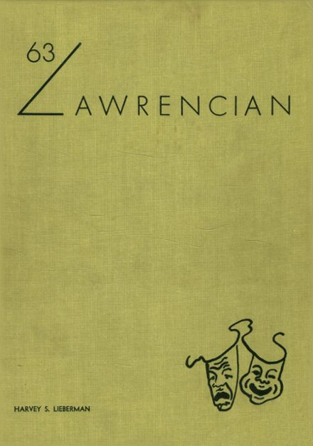 1963 Lawrence High School Yearbook Cover