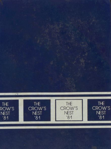 1981 St. Edward's School Yearbook Cover