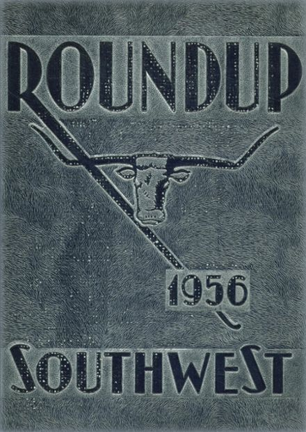 1956 Southwest High School Yearbook Cover