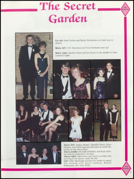 1996 Rhinelander High School Yearbook Page 9