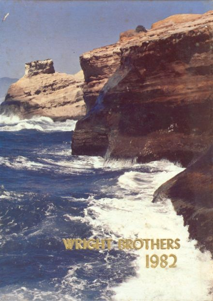 1982 Wright Brothers Career High School Yearbook Cover