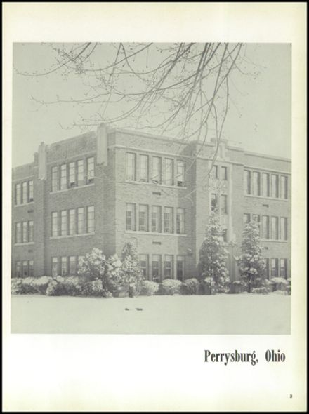 1954 Perrysburg High School Yearbook Page 7
