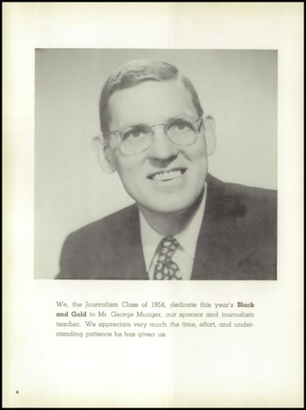 1954 Perrysburg High School Yearbook Page 8