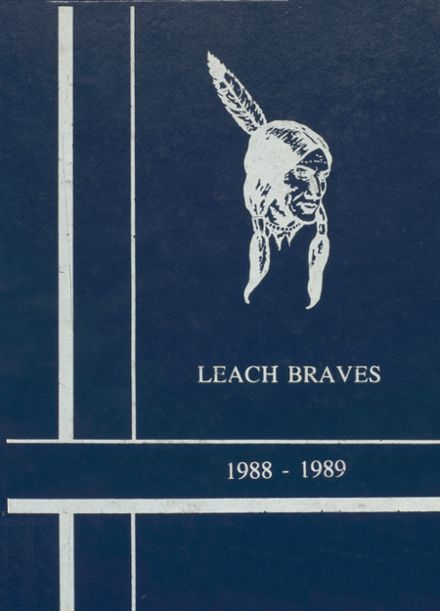 1989 Kansas High School Yearbook Cover