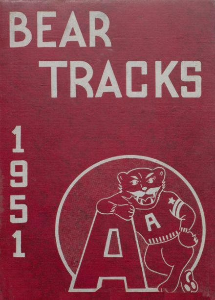 1951 Anderson County High School Yearbook Cover