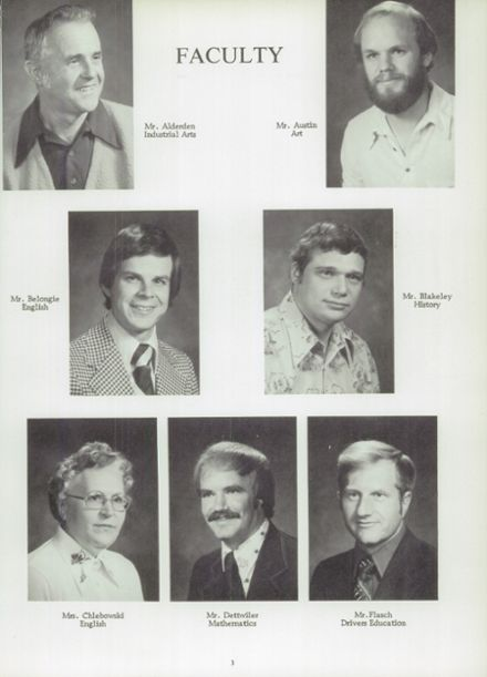 1978 Randolph High School Yearbook Page 7