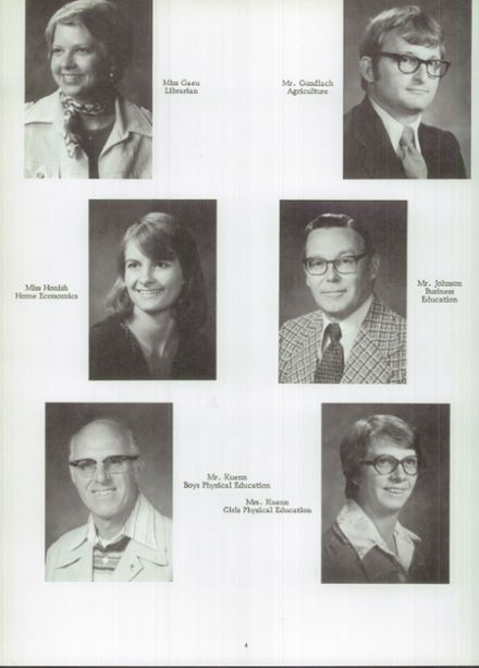 1978 Randolph High School Yearbook Page 8