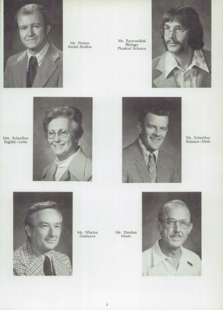 1978 Randolph High School Yearbook Page 9