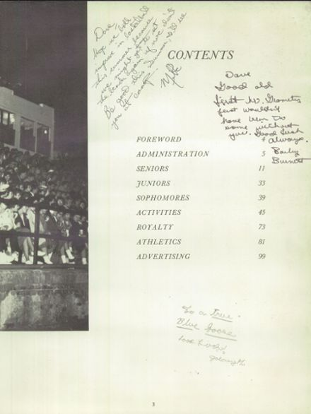 1963 Parsons High School Yearbook Page 7