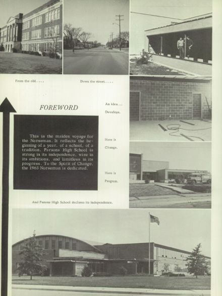 1963 Parsons High School Yearbook Page 8