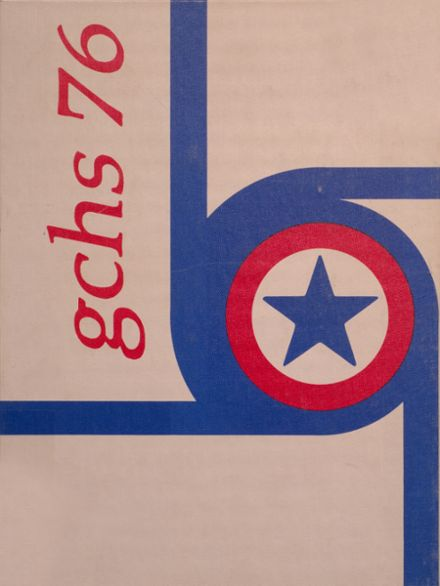 1976 Greensburg High School Yearbook Cover