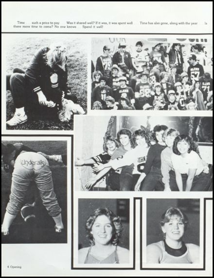 1983 John Glenn High School Yearbook Page 8