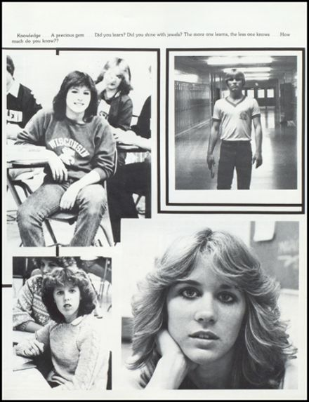 1983 John Glenn High School Yearbook Page 9