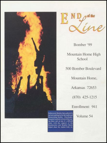 1999 Mountain Home High School Yearbook Page 5