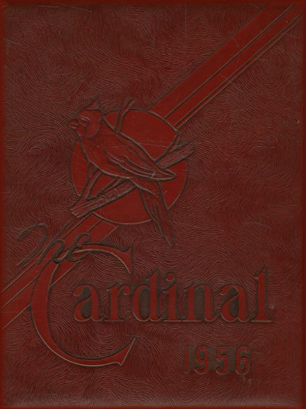 1956 Price Memorial College Yearbook Cover