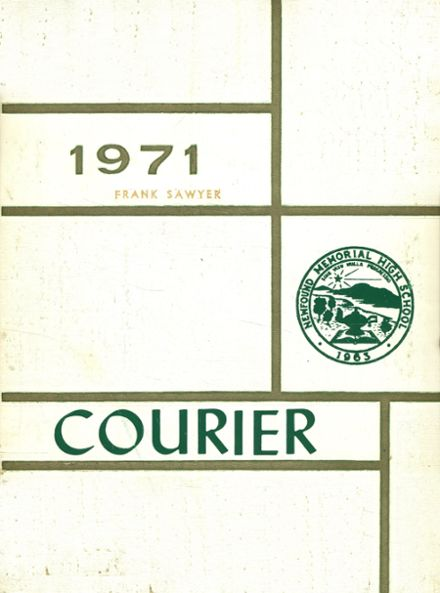 1971 Newfound High School Yearbook Cover