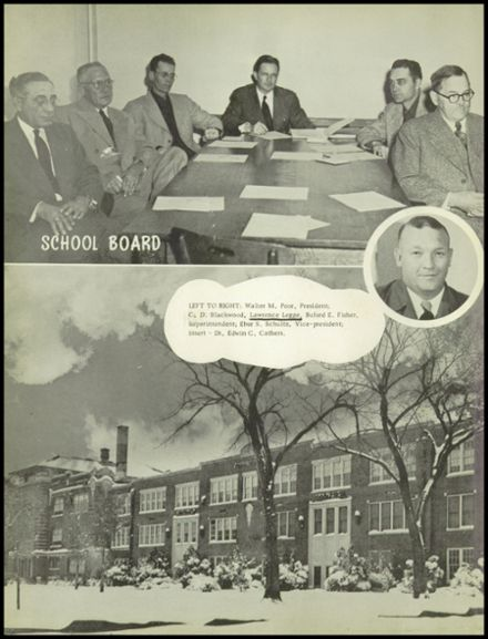 1952 Chanute High School Yearbook Page 6