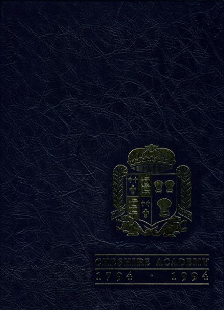 1994 Cheshire Academy Yearbook Cover