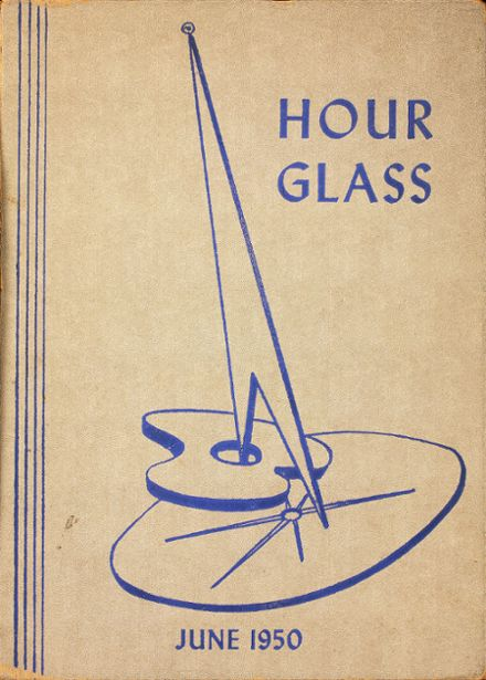 1950 Central Commercial High School Yearbook Cover